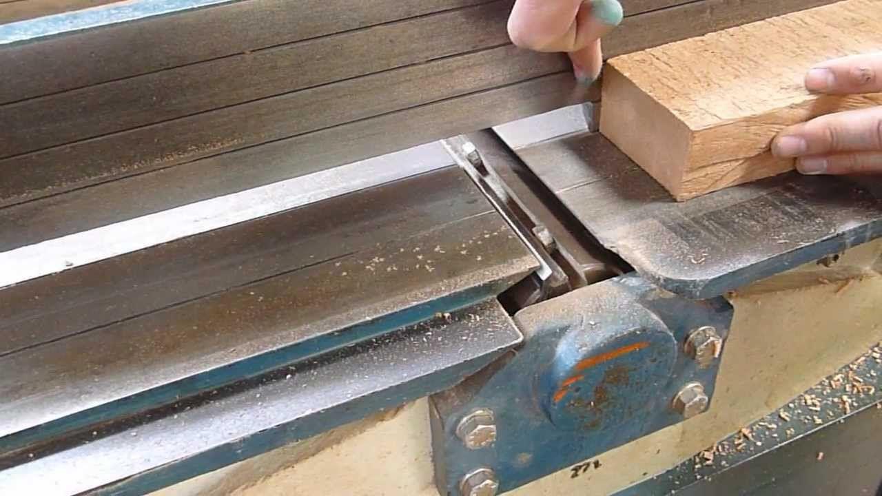 cepilladora de madera