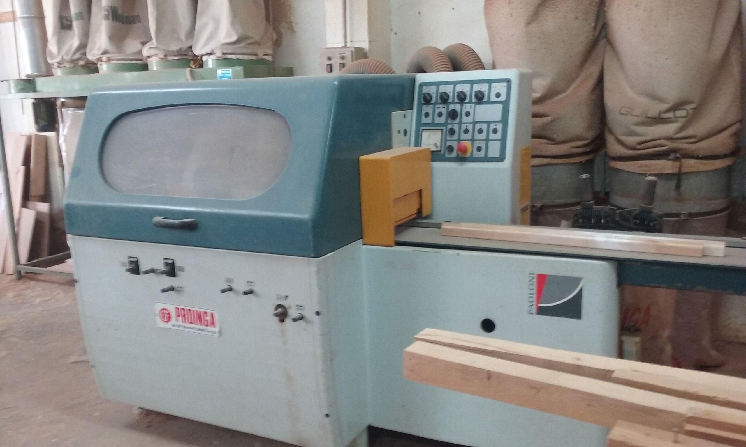 maquinaria de carpintería de ocasión