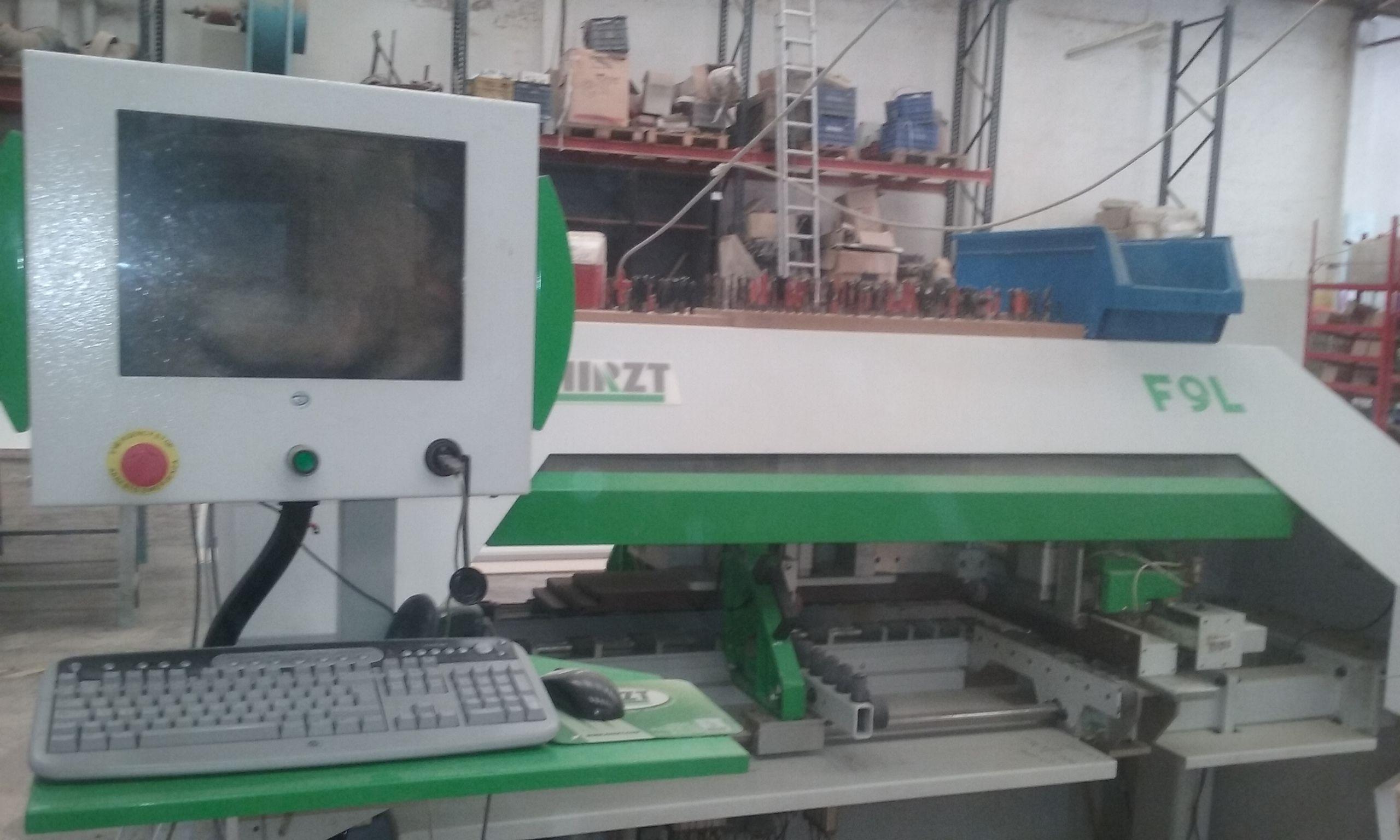 maquinaria usada para madera
